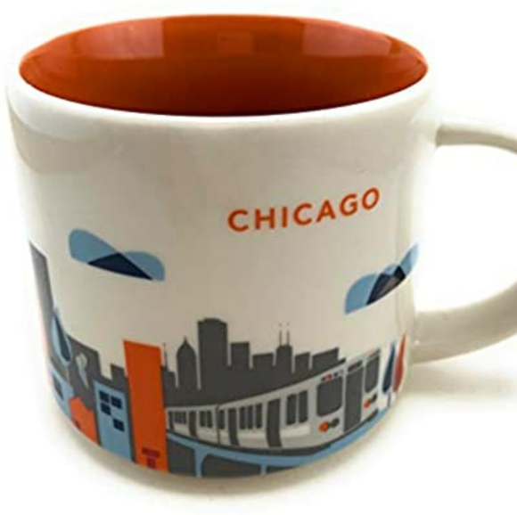 Starbucks Chicago coffee mug cup Tumbler